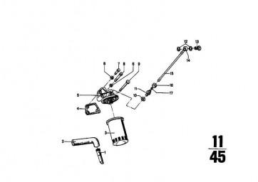 Rücklaufschlauch   5er  (11421256908)
