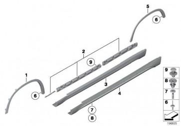 Abdeckung Schweller rechts  X1  (51772990170)