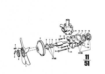 Sechskantschraube M8X90            5er 3er 7er 6er 8er R BMW  (07119912471)