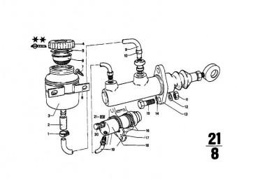 Nehmerzylinder D=20,64MM        5er  (21521102061)