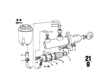 Geberzylinder Kupplung D=19,05MM         (21521104510)