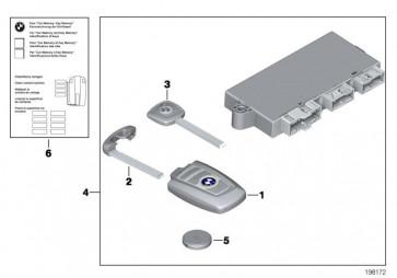 Funkfernbedienung PCA 868 MHZ (66128723588)