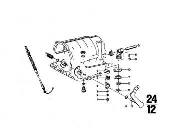 Sicherungsscheibe D8,0  5er 7er 6er M1 3er K41 R K589 K569 R50/5-R90S BMW  (07129934915)