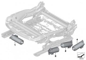 Motor Sitzhöhenverstellung  3er 1er Z4 X1 X3 X4  (67316973595)