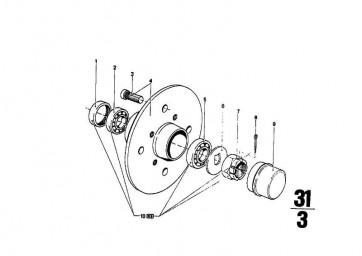 Verschlusskappe   3er  (31212031756)