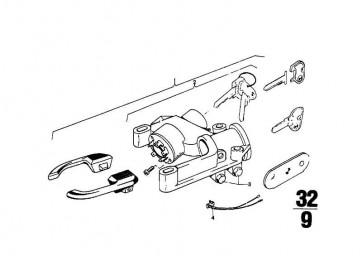 Reparatursatz Gleichschliessung    (32321108998)