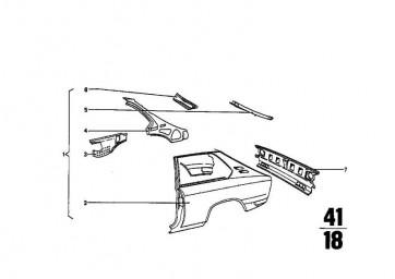 Karosserieabschlussblech    (41341808735)