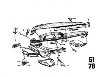 Blechmutter ST4,8-6  7er 6er 3er 8er 5er Z4 Z3 X5 X6 X1 X3 X4 BMW  (07129925711)
