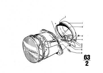 Glühlampe 12V 40/45W       3er R50/5-R90S  (07119978396)