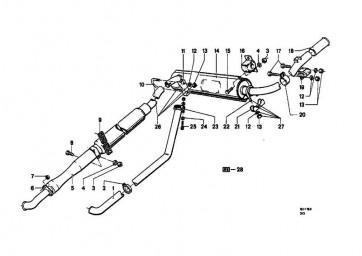 Sechskantschraube M8X70            R  (07119912470)