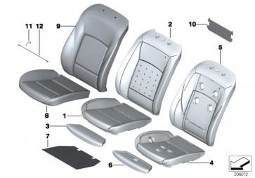 Bezug Basis Lehne Leder LCDF VEN.BEIGE  (52107230649)