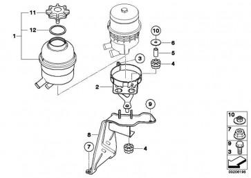 Halter Ölbehälter  1er 3er X1  (32416775877)