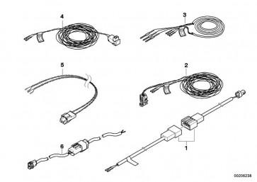 Rep.-Kabel Beifahrerairbag/Steuergerät (61129149110)