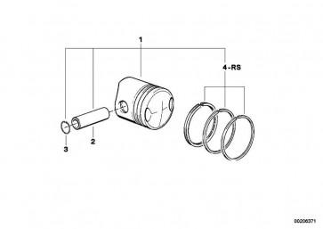 Reparatursatz Kolbenringe D=94            R  (11251337399)