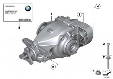 Austausch Hinterachsgetriebe I=4,44          X1  (33107592933)