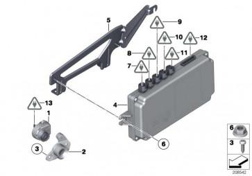 Steuergerät Top Rear Side View Kamera  3er 5er 6er 7er  (66539282424)