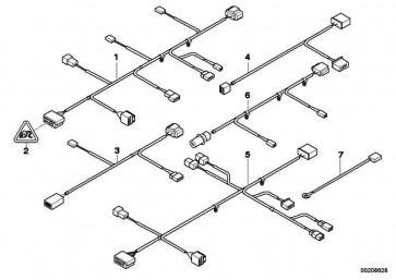 Kabelsatz Sitz Beifahrerseite  3er  (61126943543)