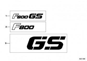 Schriftzug links GS              K72  (51148532069)