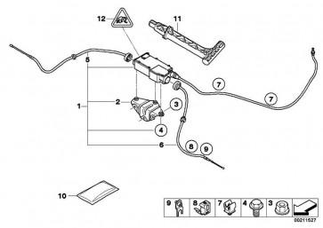 Kabelhalter  X5 X6  (34436772026)