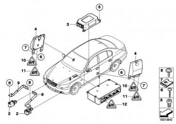 Steuergerät Airbag mit Gateway-Modul  5er  (65776975682)