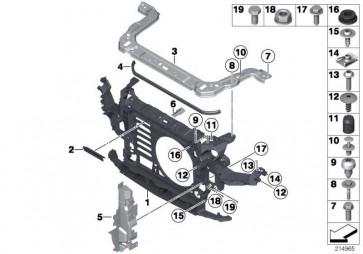 Schraube mit Scheibe M6X35           MINI  (51112754175)