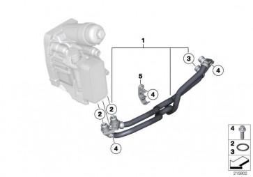 Getriebeölkühlerleitung  3er  (17228511455)