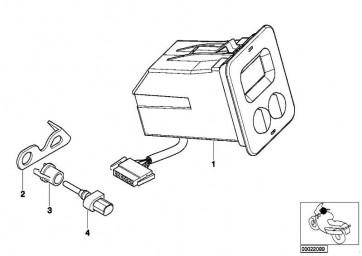 Temperatursensor  1er 3er 5er 6er 7er X1 X3 X5 X6 Z4 Z8 MINI  (65816905133)