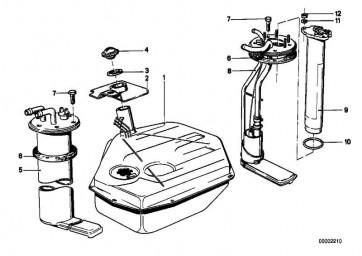 Sechskantschraube mit Scheibe M5X14  3er 5er 6er 7er X5 X6 Z4  (07119902007)