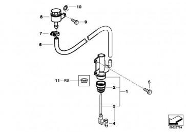 Reparatursatz Kolben   (34317655480)