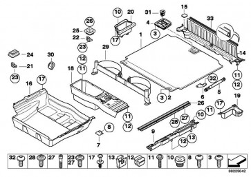 Abdeckung Batterie  X5  (51477127282)