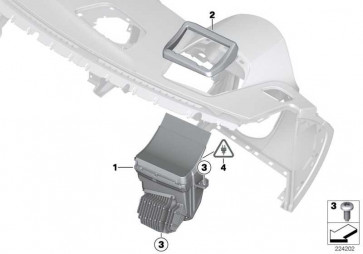 Head-Up Display LHD             X3  (62309252591)