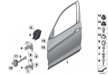 Crashpad Tür vorn links  X3  (51717242871)