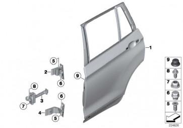 Türbremse hinten  X3 X4  (51227205613)