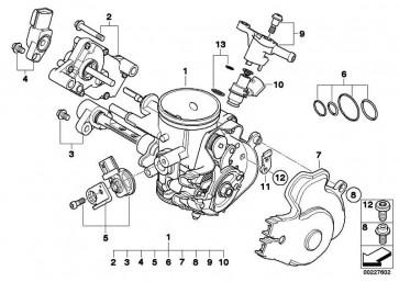 Anschlagblech Leistungsreduzierung 19KW            K16  (13547716242)