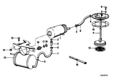 Kraftstoffpumpe   3er 5er 6er 7er  (16141178751)