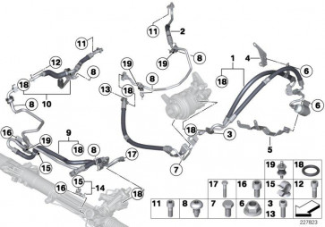 Rücklaufleitung Dynamic Drive PART 1          (32416781835)