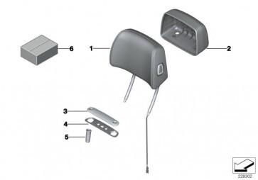 Kopfstütze Basis Leder elektrisch VENETOBEIGE (52107236828)