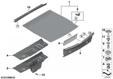 Einlegeboden Gepäckraum (51477224800)