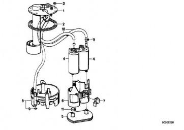 Rep.Satz Tauchrohrgeber/Kraftstoffpumpe  5er 7er  (16147159349)