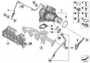 Austausch Turbolader EU5 MINI  (11658512454)