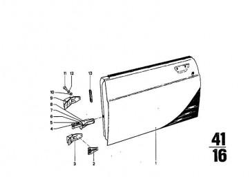 Sechskantschraube M6X18  3er X5 R R50/5-R90S  (07119913019)