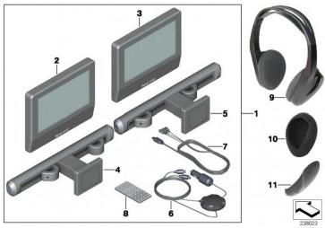 Infrarot-Kopfhörer  MINI  (65122357125)