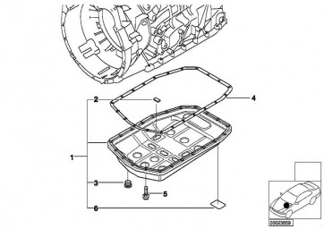 Verschlussschraube M16X1,5         3er 5er 7er 8er X5  (24117571242)