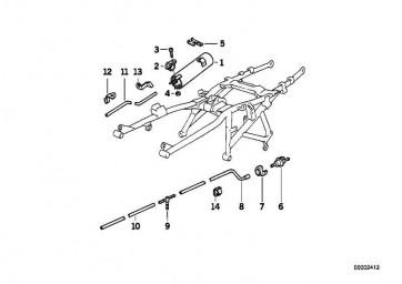 Meterware Schlauchleitung 8X5              (16111342049)