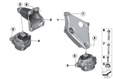 Motortragbock links (22116861401)