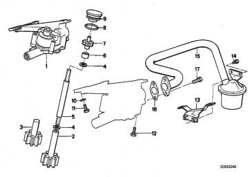 Sechskantschraube mit Scheibe M6X10-Z1        3er 5er 7er 8er X5 Z3 Z4  (07119915041)