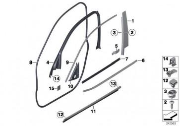 Stossleiste vorne rechts X-LINE          X3  (51137220610)