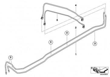 Kraftstoffvorlaufleitung (16127246307)