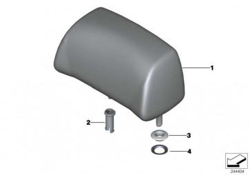 Kopfstütze hinten Leder LKSW,X3SW SCHW  6er  (52208052969)