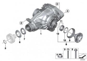 Austausch Hinterachsgetriebe mit Sperre I=3,85          3er  (33102283006)